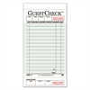 National Checking Company Guest Check Pad with Customer Receipt Stub, 3 1/2 x 6 3/4, 50 Checks/Pad