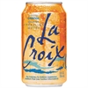 LaCroix Sparkling Water, Orange Flavor, 12 oz Can, 24/Carton