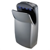 "WORLD DRYER VMax Hand Dryer, High Impact ABS, 13"" x 26 1/4"" x 9 1/4"", Silver"