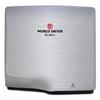 WORLD DRYER SLIMdri Hand Dryer, Stainless Steel, Brushed