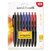 uni-ball 307 Gel Pen, 0.7 mm, Assorted Ink, 8/Pack