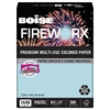 FIREWORX Colored Paper, 24lb, 8-1/2 x 11, Bottle Rocket Blue, 500 Sheets/Ream