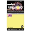 Boise FIREWORX Colored Paper, 20lb, 8-1/2 x 14, Crackling Canary, 500 Sheets/Ream