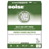 Boise X-9 Multi-Use 3-Hole Copy Paper, 92 Bright, 20lb, 8-1/2 x 11, White, 5000/Carton