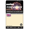 FIREWORX Colored Paper, 20lb, 11 x 17, Flashing Ivory, 500 Sheets/Ream