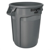 Brute Round Containers, 32 gallon, Black