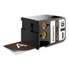 "XTL All-Purpose Vinyl Labels, 2"" x 24.6 ft., Brown/White Print"