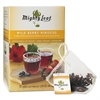 Mighty Leaf Tea Whole Leaf Tea Pouches, Wild Berry Hibiscus, 15/Box