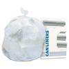 High-Density Coreless Can Liners, 8-10 gal, 8 mic, 24 x 24, Natural, 1000/Carton
