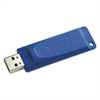 Verbatim Classic USB 2.0 Flash Drive, 64GB, Blue