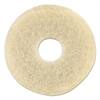 "Oreck Commercial Orbiter Stone Care Brush, 12"" Diameter, Beige"