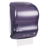 Mechanical Hands-Free Towel Dispenser, 11 4/5w x 9 1/4d x 16 1/5h, Black