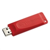 Store 'n' Go USB 2.0 Flash Drive, 8GB, Red