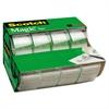 """Scotch Magic Tape in Handheld Dispenser, 3/4"""" x 300"""", 1"""" Core, Clear, 4/Pack"""