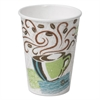 Hot Cups, Paper, 8oz, Coffee Dreams Design, 500/Carton