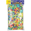 Wonderfoam Shapes Classroom Pack, Assorted Shapes/Colors, 5000 Pieces/Pack