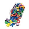 Wonderfoam Magnetic Alphabet Letters, Assorted Colors. 105/Pack