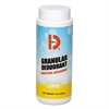 Granular Deodorant, Lemon, 16oz, Shaker Can, 12/Carton