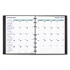MiracleBind 17-Mo. Academic Planner, Hard Cover, 9 1/4 x 7 1/4, Black, 2016-2018