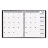 Blueline Net Zero Carbon Monthly Planner, 11 x 8 1/2, Black Cover, 2017
