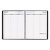 Blueline Net Zero Carbon Weekly Planner, 11 x 8 1/2, Black Cover, 2017