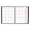 Brownline PlannerPLUS 14-Month Monthly Planner, 11 x 8 1/2, Black, 2017