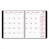 Brownline DuraFlex 14-Month Planner, 8 7/8 x 7 1/8, Black, 2016-2018