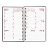 Brownline DuraFlex Weekly Planner, 8 x 5, Black, 2017