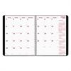 Brownline DuraFlex 14-Month Planner, 8 1/2 x 11, Black, 2016-2018