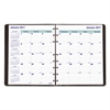 Blueline MiracleBind 17-Mo. Academic Planner, Soft Cover, 9 1/4 x 7 1/4, Black, 2016-2018