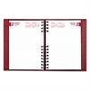 Brownline CoilPro Daily Planner, Ruled 1 Day/Page, 8 1/4 x 5 3/4, Red, 2017
