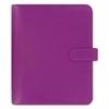Saffiano Personal Size Organizer, A5, 8 1/4 x 5 3/4, Raspberry, 2017