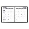 Blueline Net Zero Carbon Monthly Planner, 9 1/4 x 7 1/4, Black Cover, 2017