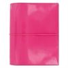 Filofax Domino Patent A5 Organizer, 8 1/4 x 5 3/4, Pink, 2017