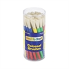 Colossal Brush Set, Natural Bristle, Round, 30/Set