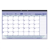 Brownline Monthly Desk Pad Calendar, 17 3/4 x 10 7/8, 2017