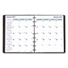 Blueline MiracleBind 17-Month Academic Planner, Soft Cover, 11 x 9 1/16, Black, 2016-2018