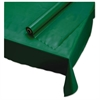 "Hoffmaster Plastic Roll Tablecover, 40"" x 100 ft, Hunter Green"