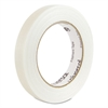 "Universal 110# Utility Grade Filament Tape, 18mm x 54.8m, 3"" Core, Clear"