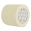"General Purpose Masking Tape, 18mm x 54.8m, 3"" Core, 6/Pack"