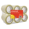 "General-Purpose Acrylic Box Sealing Tape, 48mm x 100m, 3"" Core, Clear, 12/Pack"