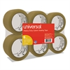 "General-Purpose Box Sealing Tape, 48mm x 54.8m, 3"" Core, Tan, 6/Pack"