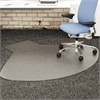 deflecto SuperMat Frequent Use Chair Mat, Medium Pile Carpet, Straight,60x66 w/Lip, Clear