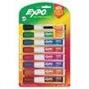 Magnetic Dry Erase Marker, Chisel Tip, Assorted, 8/Pack