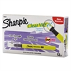 Sharpie Clearview Pen-Style Highlighter, Fine Chisel Tip, Fluorescent Yellow Ink, Dozen