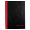 Black n' Red Casebound Notebook, Legal Rule, 8 1/4 x 5 5/8, White, 96 Sheets