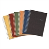 Recycled Notebook, College Ruled, 9 1/2 x 6, 120 Sheets, Perforated, Assorted