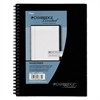 Side Bound Ruled Meeting Notebook, Legal Rule, 9 1/2 x 6 5/8, 80 Sheets