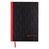 Black n' Red Casebound Notebook, Legal Rule, 11 3/4 x 8 1/4, White, 96 Sheets