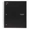 Wirebound 5-Subject Notebook, College Rule, 11 x 8 1/2, 200 Sheets, Assorted